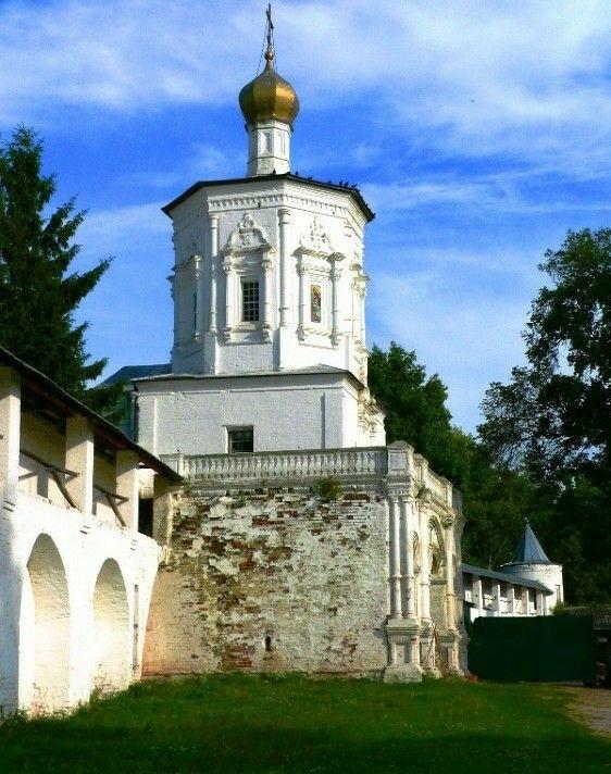 Церковь Иоанна Предтечи Солотчинского Рождества Богородицы женского монастыря