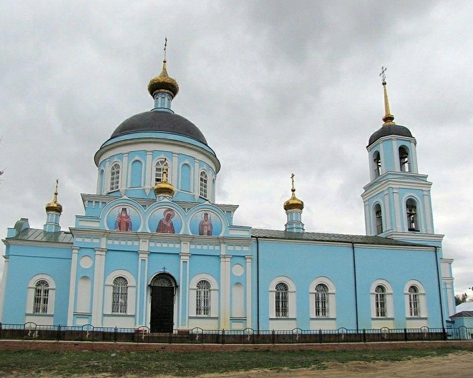 Церковь Казанской Иконы Божией Матери в Солотчах