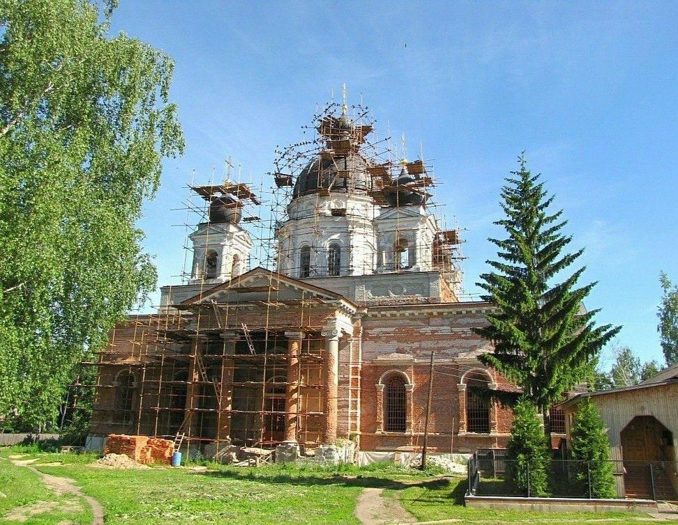 Собор Рождества Христова Успенского Вышенского женского монастыря
