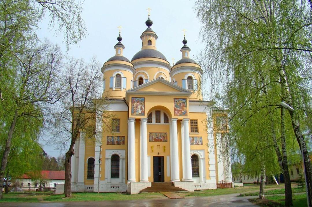 Церковь Казанской Иконы Божией Матери Успенского Вышенского женского монастыря