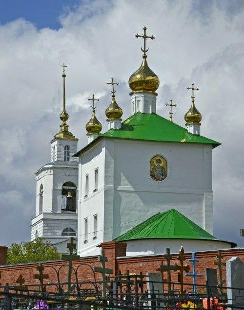 Церковь Димитрия Солунского Димитриевского мужского монастыря