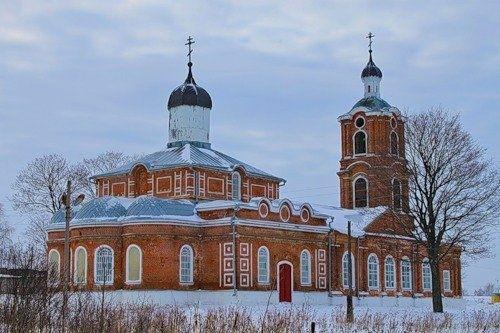 Церковь Рождества Пресвятой Богородицы в Вослебово