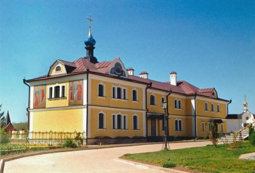 Церковь Бориса и Глеба в Новом братском корпусе Иоанно-Богословского мужского монастыря в Пощупово