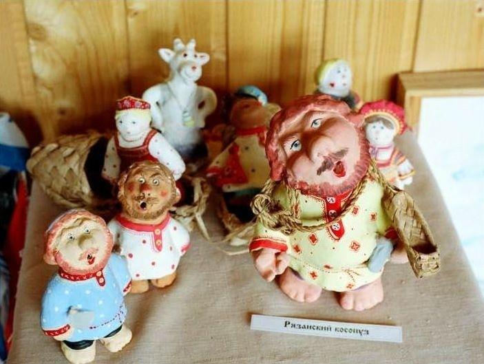 Сказочный музей Пощуповской игрушки в Пощупово