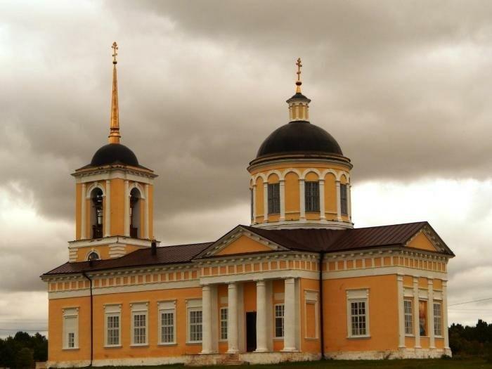 Церковь Богоявления Господня Покровского женского монастыря в Шаморге