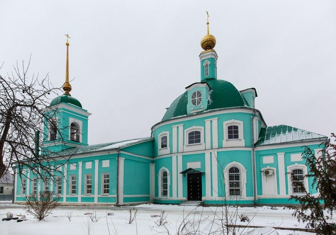 Церковь Троицы Живоначальной в Шацке