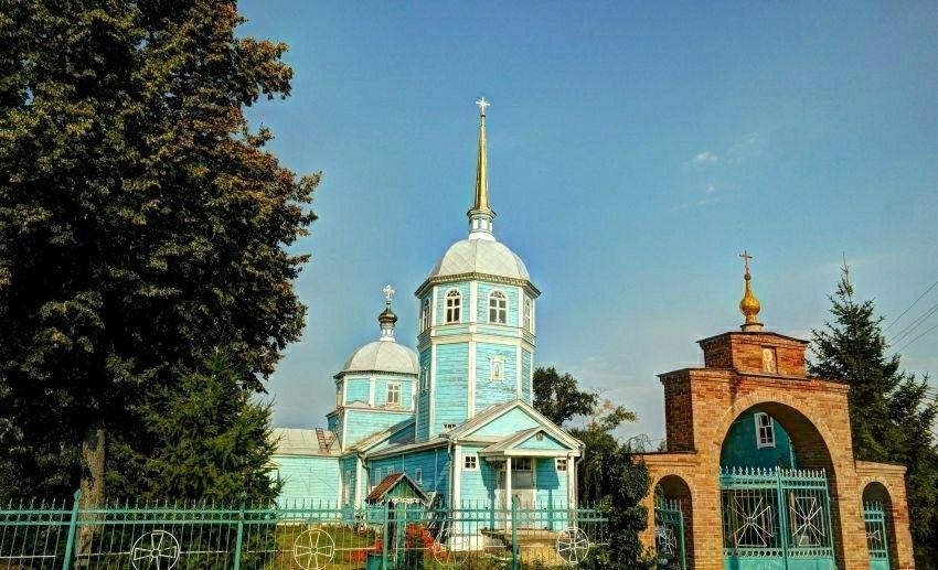 Церковь Николая Чудотворца в Шацке