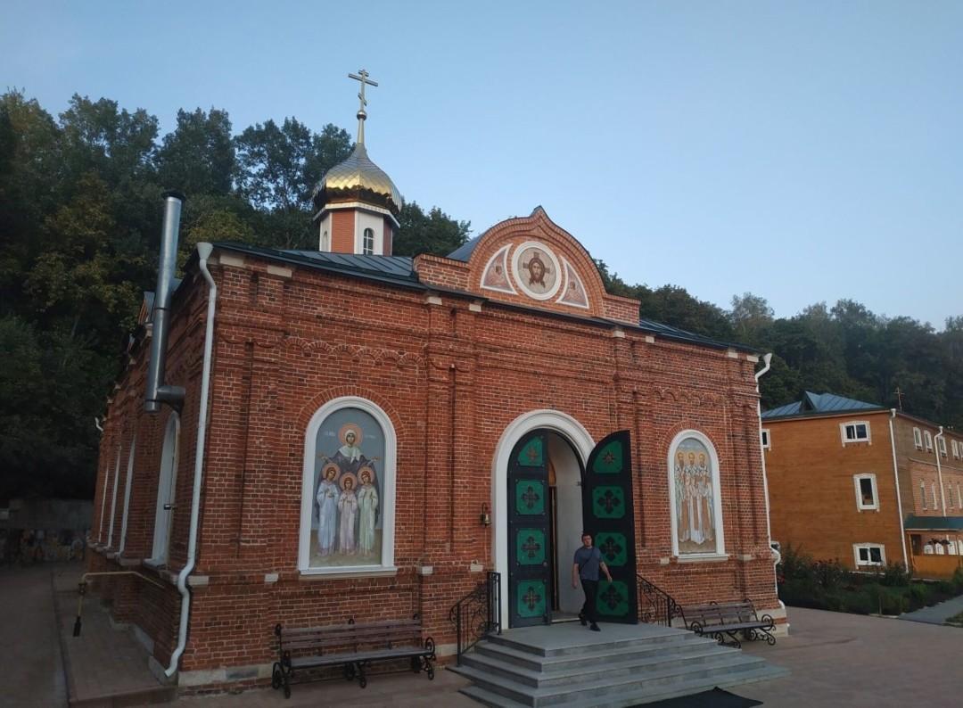 Церковь Трёх Святителей Великих Спасо-Преображенского Пронского  мужского монастыря