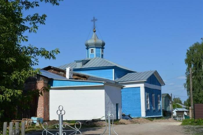 Церковь Николая Чудотворца в Спас-Клепиках