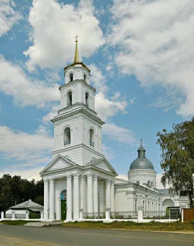 Церковь Троицы Живоначальной в Туме