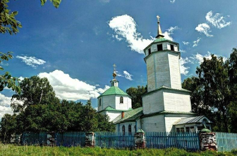 Церковь Покрова Пресвятой Богородицы в Сынтуле