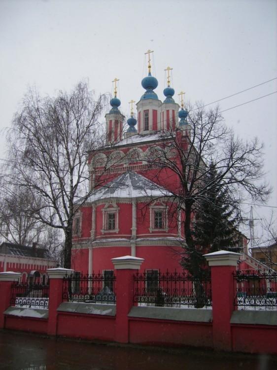 """Собор великомученика Георгия Победоносца """"за верхом"""" в Калуге"""