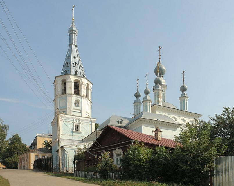 Храм Знамения Пресвятой Богородицы на Зелёной в Калуге