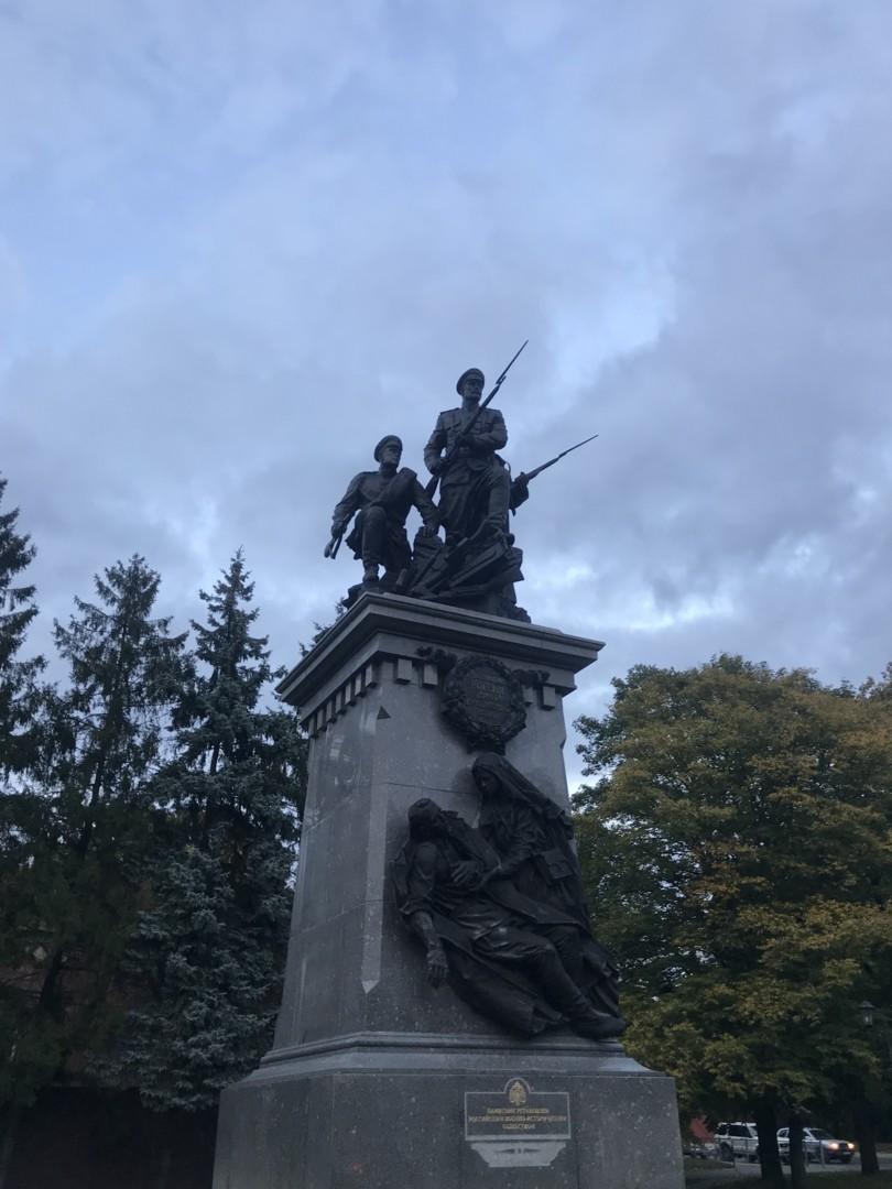 Памятник героям Первой Мировой Войны в Калининграде