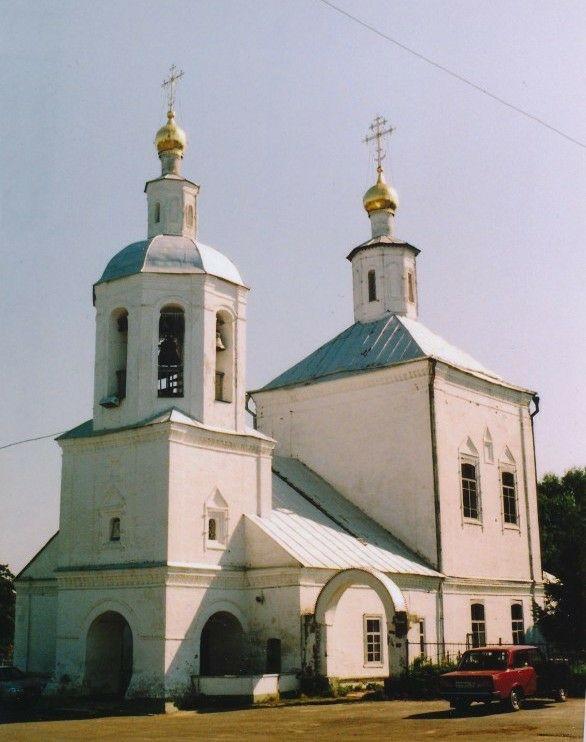 Церковь Преображения Господня в Бабино-Булыгино