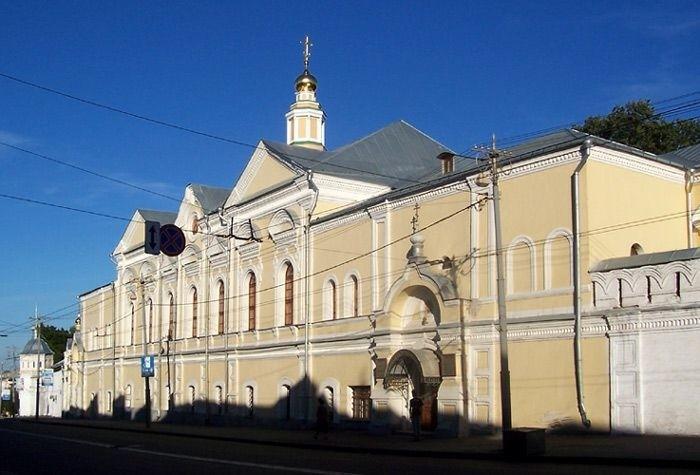 Храм рождества Христова Богородице-Рождественского мужского монастыря во Владимире