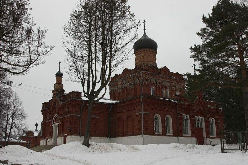 Церковь Всех Святых Свято-Смоленской Зосимовой пустыни