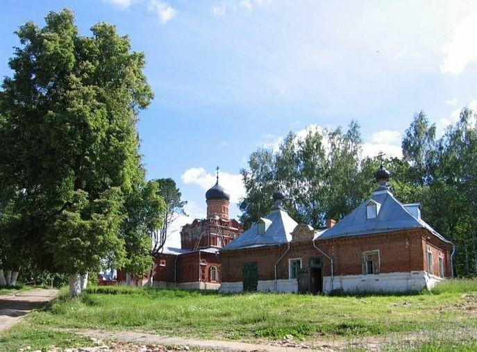 Надкладезные часовни Свято-Смоленской Зосимовой мужской пустыни
