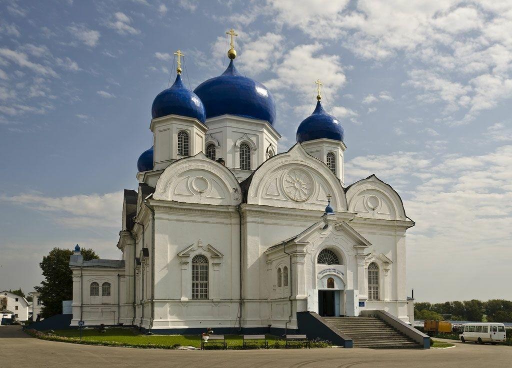 Собор Боголюбской Иконы Божией Матери Боголюбского женского монастыря в Боголюбово