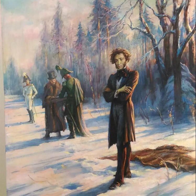 Как Лажечников дуэль Пушкина предотвратил