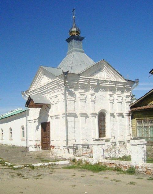 Часовня Александра Невского Богоявленского Мстёрского мужского монастыря
