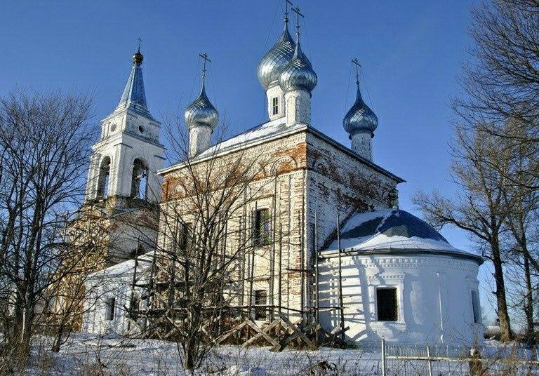Церковь Рождества Пресвятой Богородицы в Троицком Татарово