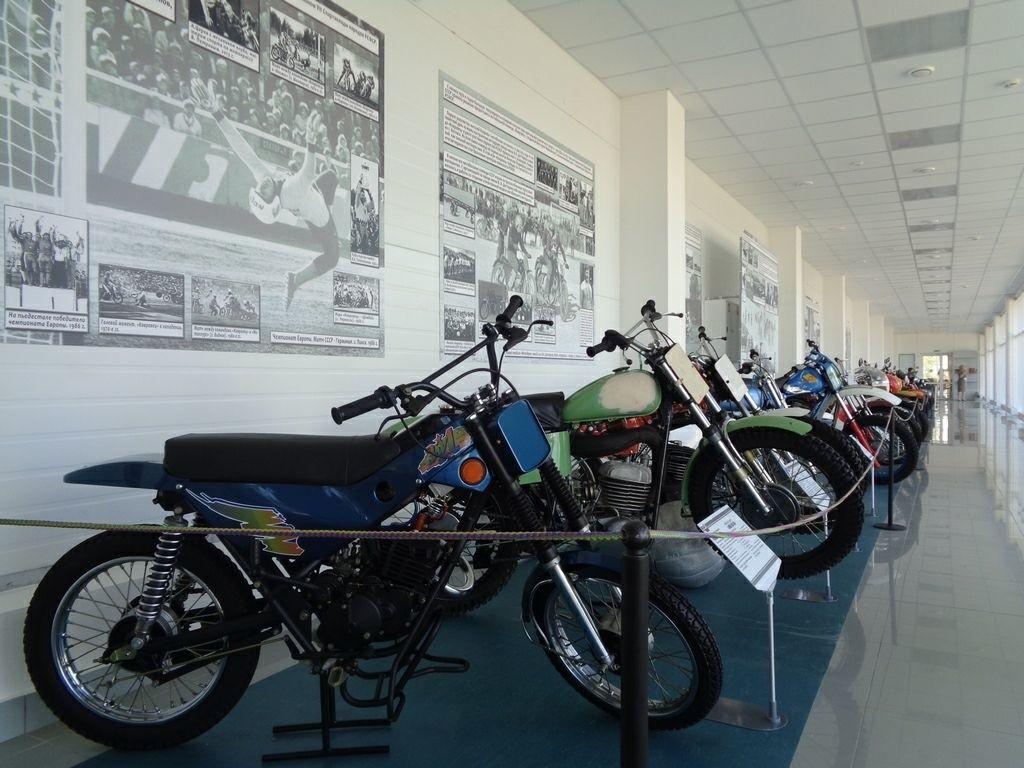 Музей мотоциклов и спорта в Коврове