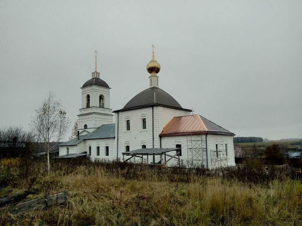 Церковь Николая Чудотворца в Троицко-Никольском