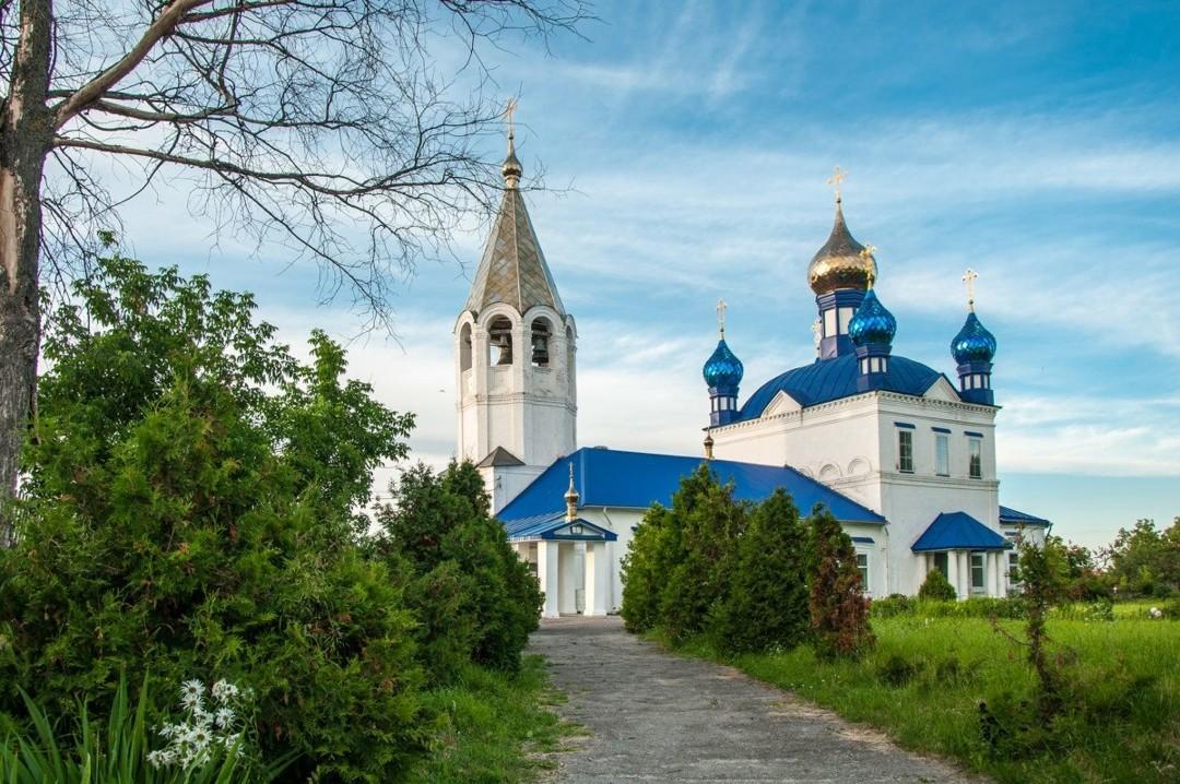 Церковь Казанской Иконы Божией Матери в Красном в Гороховце