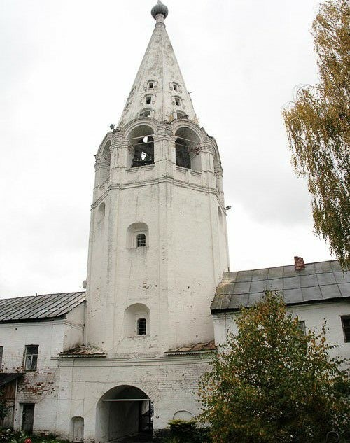 Колокольня Свято-Сретенского женского монастыря в Гороховце