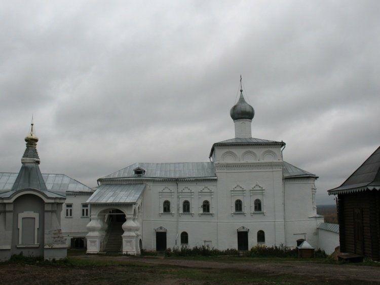 Церковь Иоанна Лествичника Свято-Троицкого Никольского мужского монастыря в Гороховце