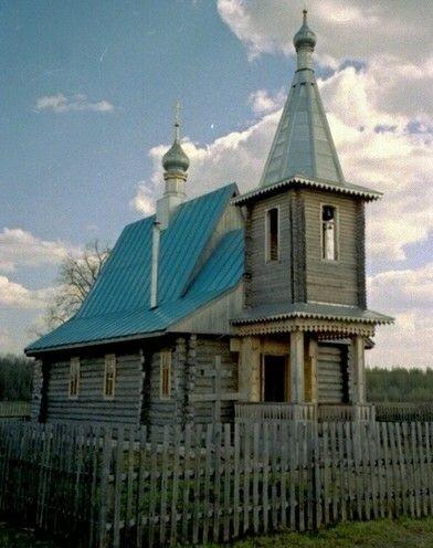 Церковь Сергия Радонежского в Егорий