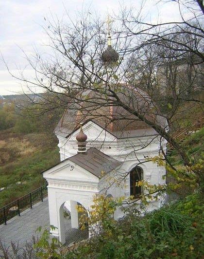 Надкладезная часовня Романа Киржачского Благовещенского Киржачского женского монастыря