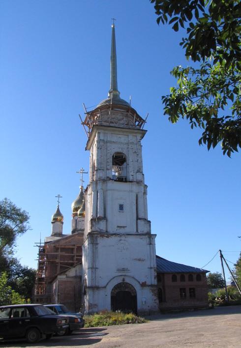 Храм Рождества Пресвятой Богородицы в Ромоданово