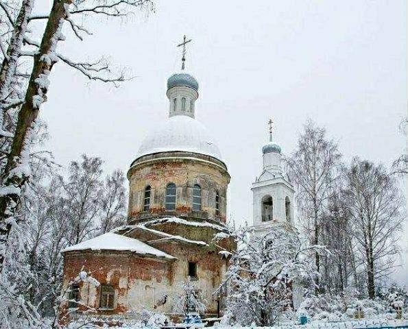 Церковь Вознесения Господня на Борисоглебском погосте