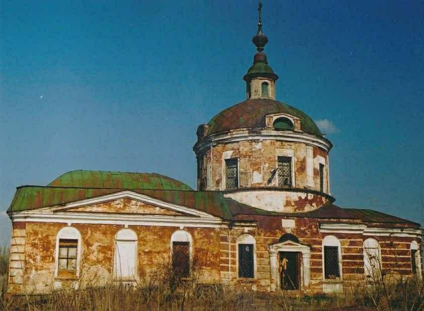 Церковь Иконы Божией Матери Знамение в Красном