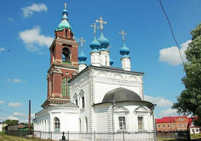 Церковь Покрова Пресвятой Богородицы в Юрьеве-Польском