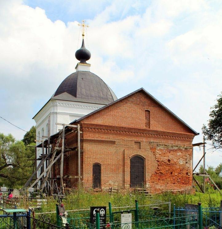 Церковь Воскресения Христова в Большом Забелино