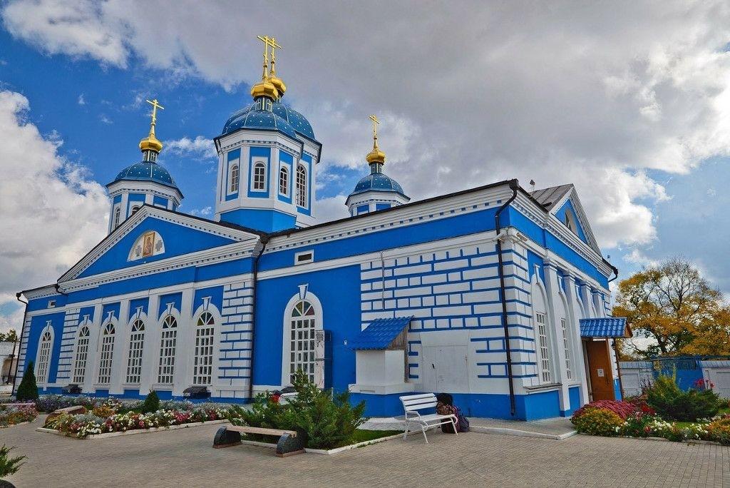 Церковь Рождества Пресвятой Богородицы Оранского Богородицкого мужского монастыря