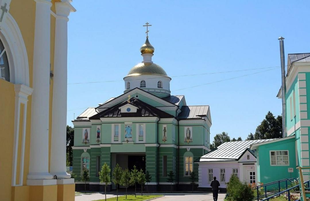 Церковь Нектария Печерского Оранского Богородицкого мужского монастыря