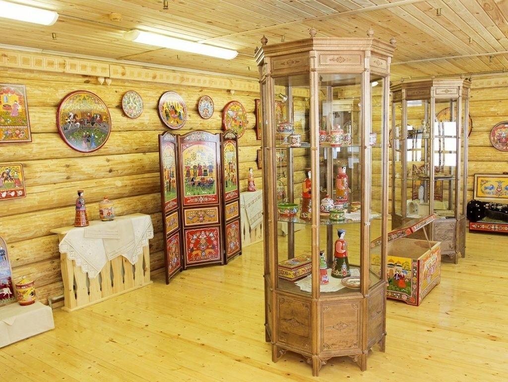 Музейно туристический комплекс Город мастеров в Городце