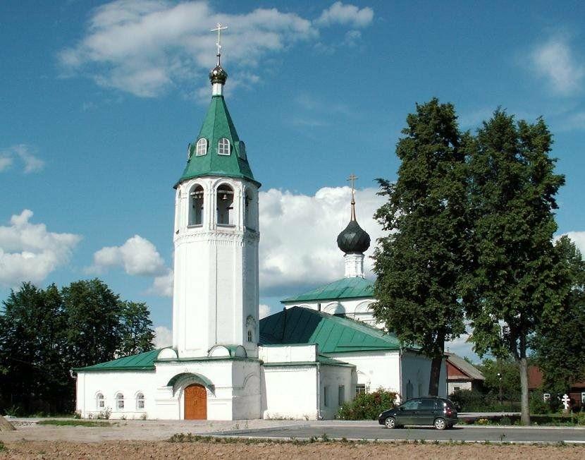 Церковь Чуда Архангела Михаила в Хонех в Городце