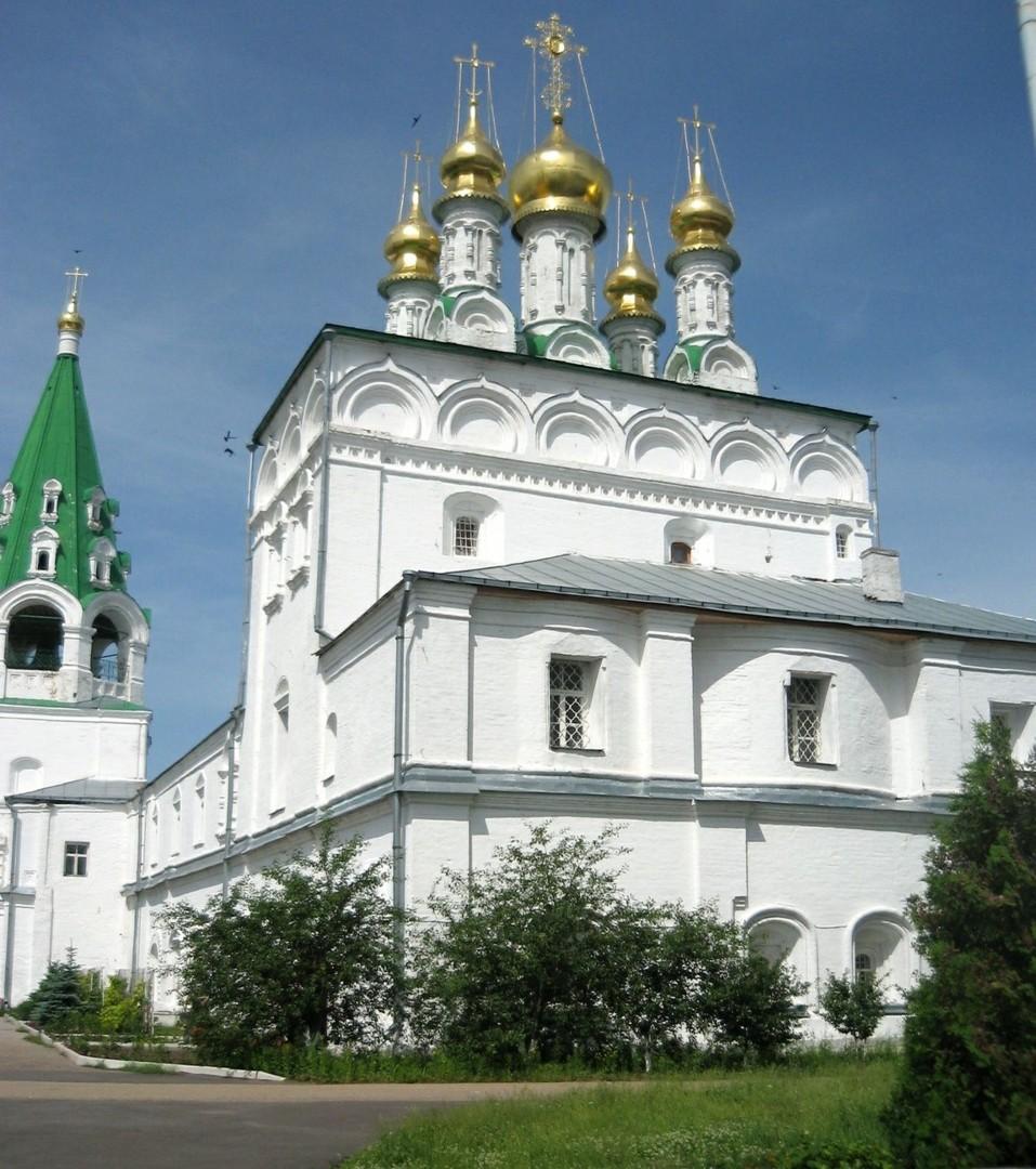 Церковь Успения Пресвятой Богородицы Макарьевского Желтоводского женского монастыря