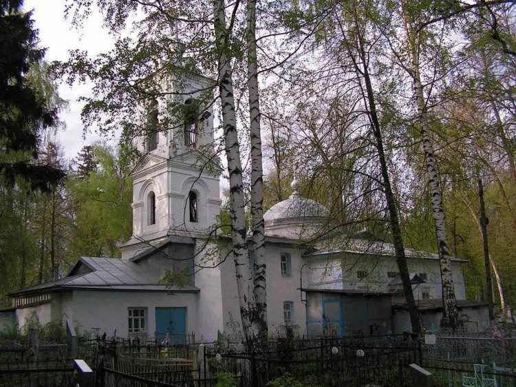 Церковь Сошествия Святого Духа в Юрьевце