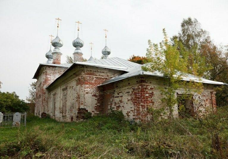Церковь Вознесения Господня в Горицах