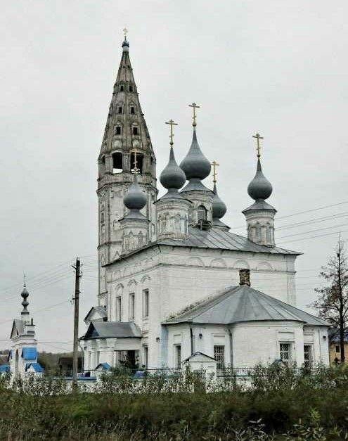 Церковь Успения Пресвятой Богородицы Казанского женского монастыря в Кузнецово
