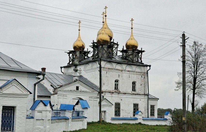 Церковь Казанской Иконы Божией Матери Казанского женского монастыря в Кузнецово