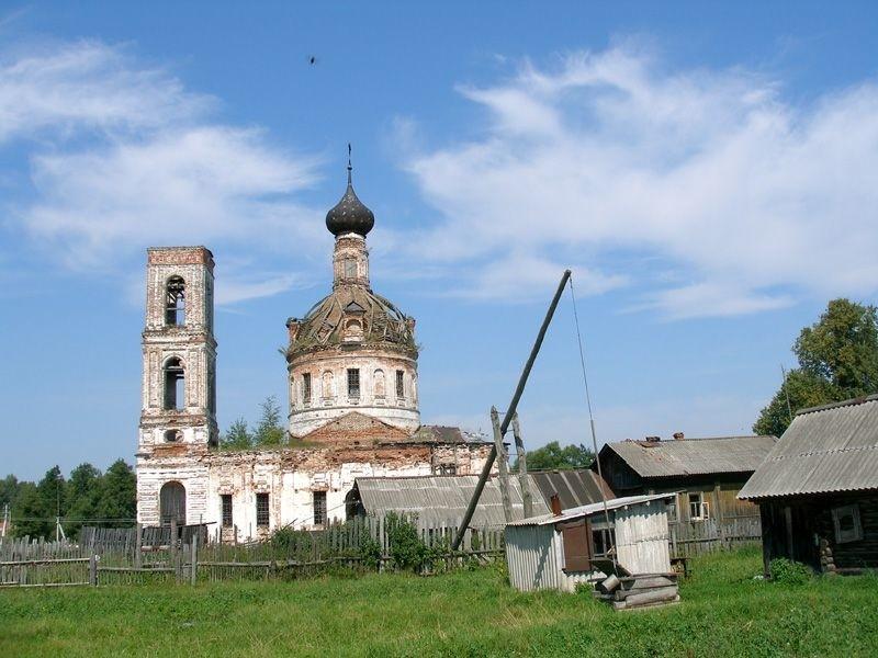 Церковь Николая Чудотворца в Мугреево-Никольском