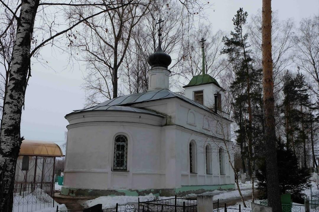 Церковь Артемия Веркольского в Мугреево-Никольском