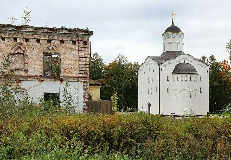 Николо-Бабаевский мужской монастырь в Некрасовском